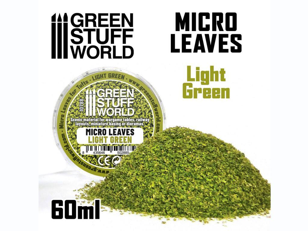Micro Hojas - Mix verde claro (Vista 1)