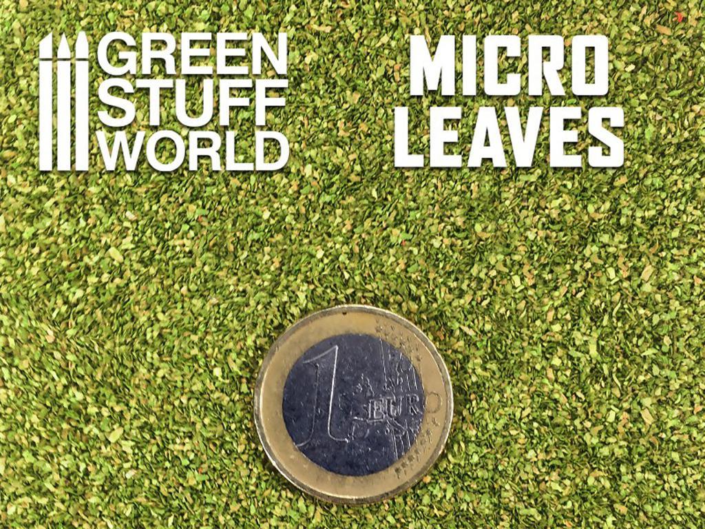 Micro Hojas - Mix verde claro (Vista 3)