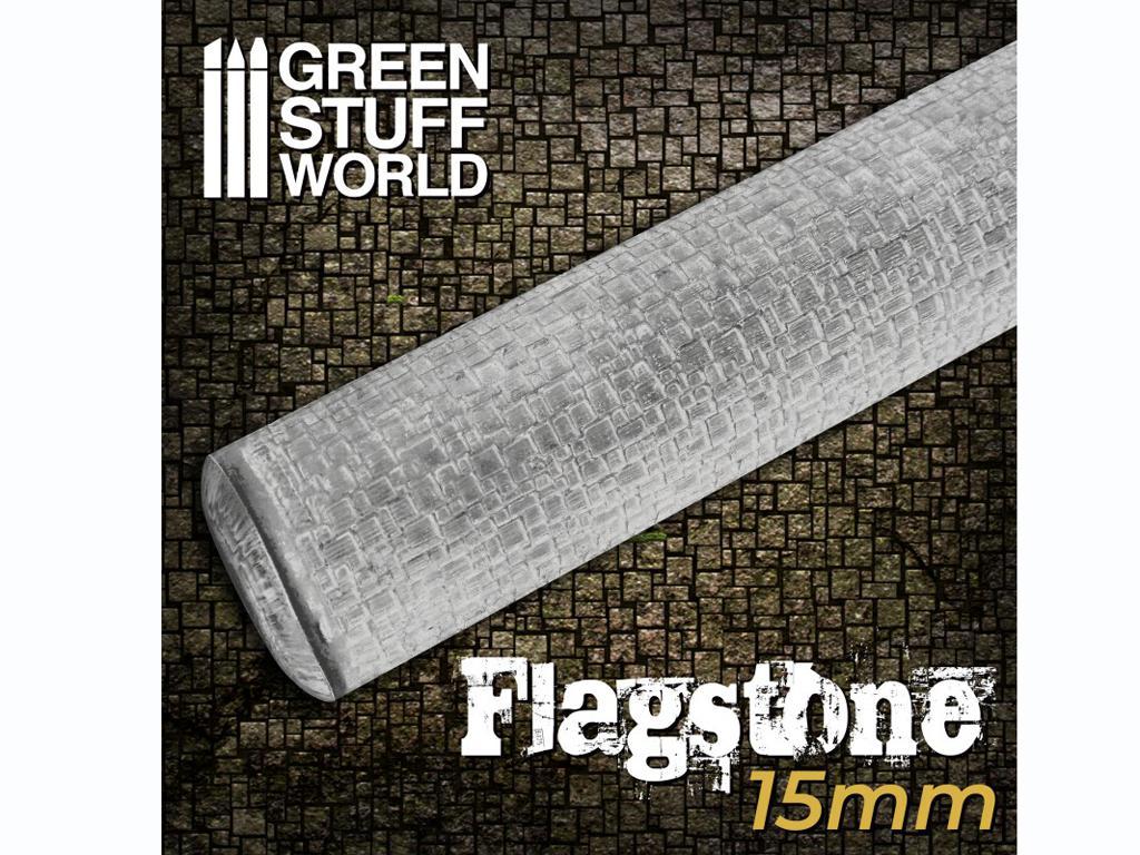 Rodillo Texturizado Pavimento de piedra 15 mm (Vista 1)