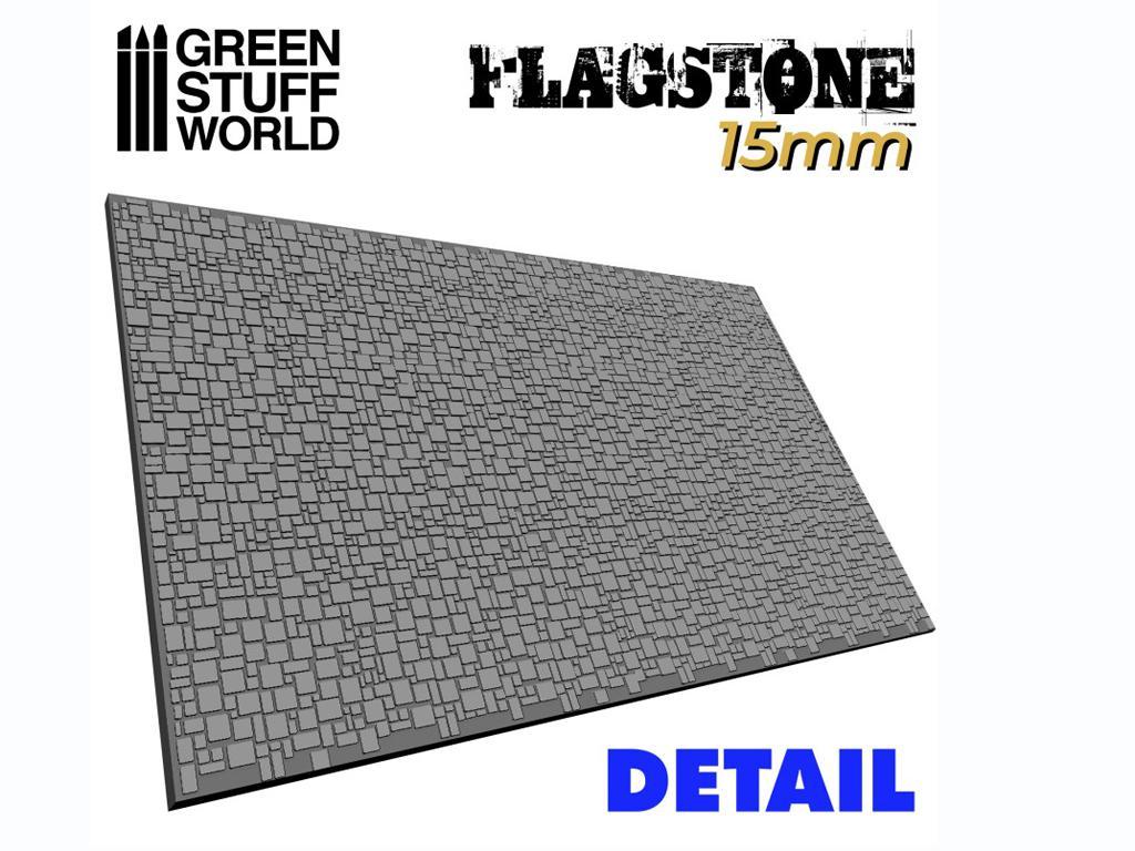 Rodillo Texturizado Pavimento de piedra 15 mm (Vista 2)