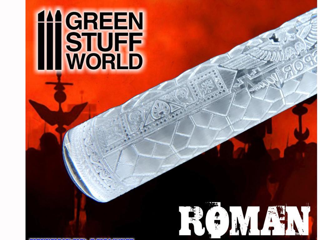 Rodillo Texturizado Romano (Vista 1)