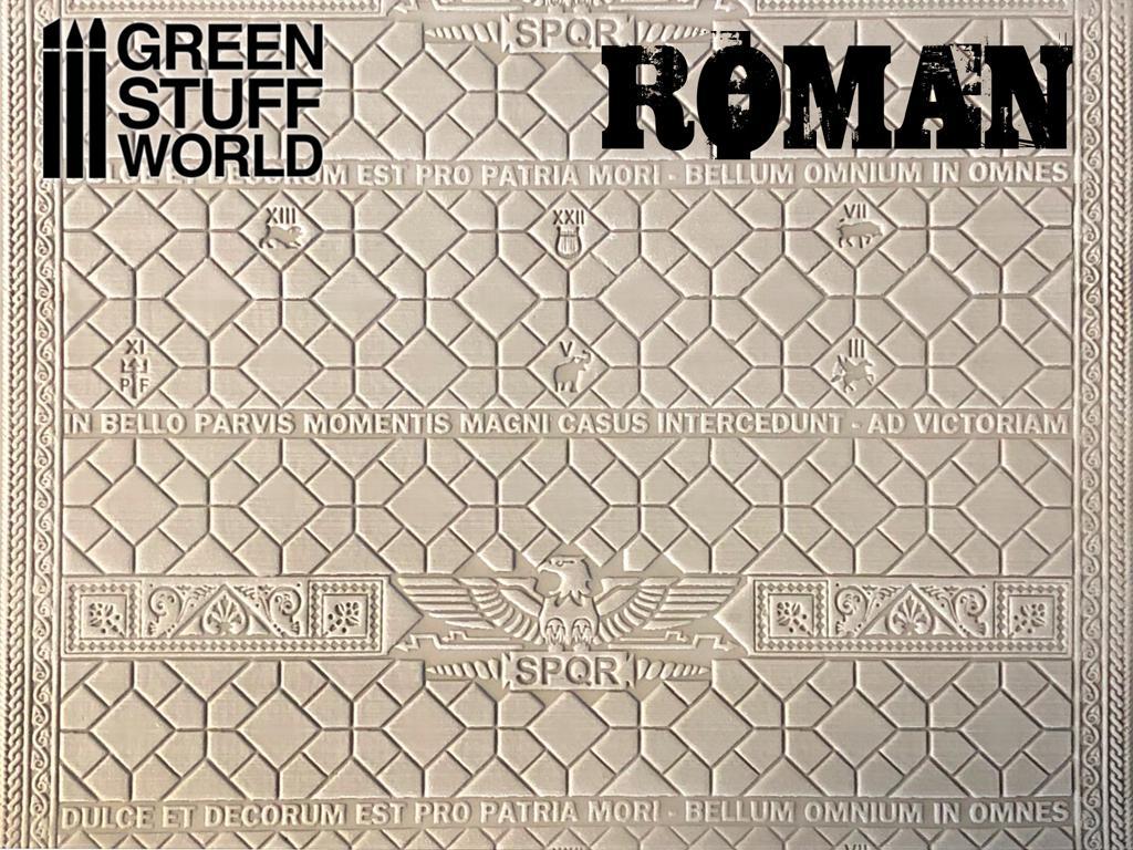 Rodillo Texturizado Romano (Vista 2)