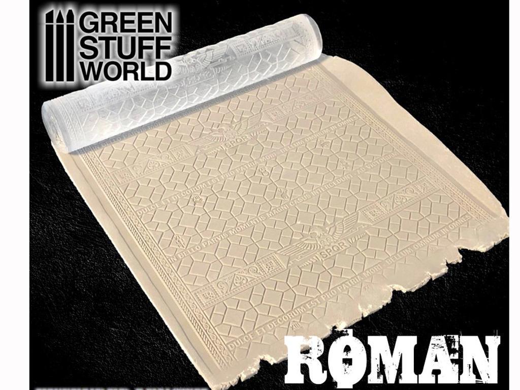 Rodillo Texturizado Romano (Vista 3)