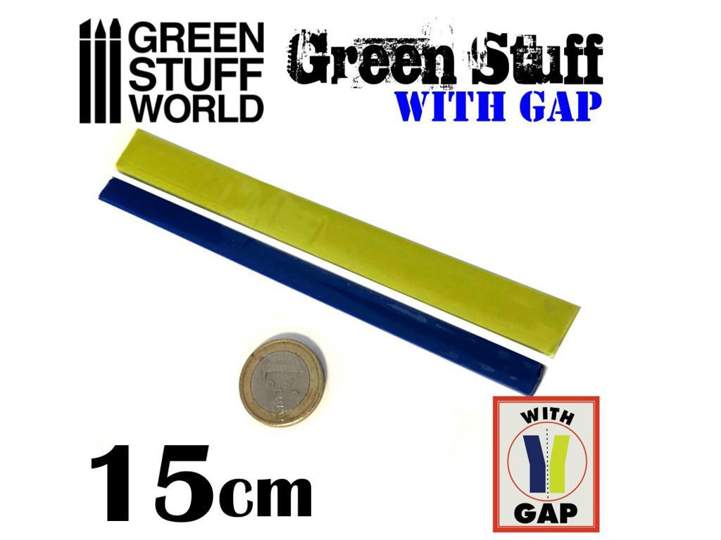 Masilla verde en Rollo 15 cm  (Vista 1)