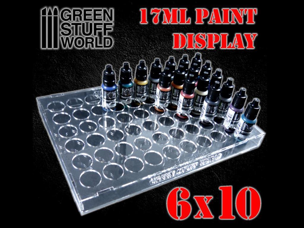 Expositor Pinturas 17 ml  6 x 10 (Vista 1)