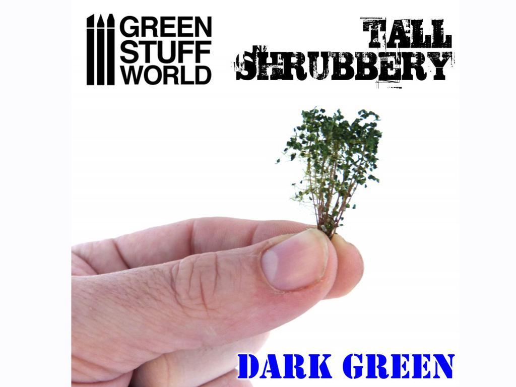 Arbustos Altos - Verde Oscuro (Vista 1)