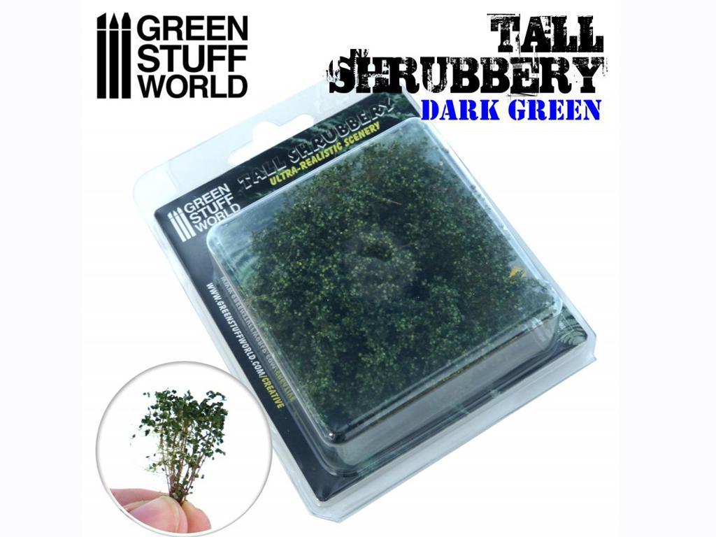 Arbustos Altos - Verde Oscuro (Vista 2)