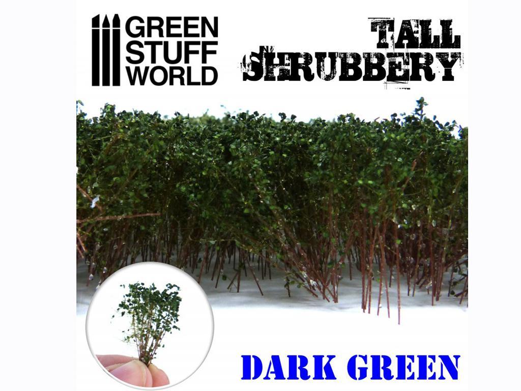 Arbustos Altos - Verde Oscuro (Vista 3)