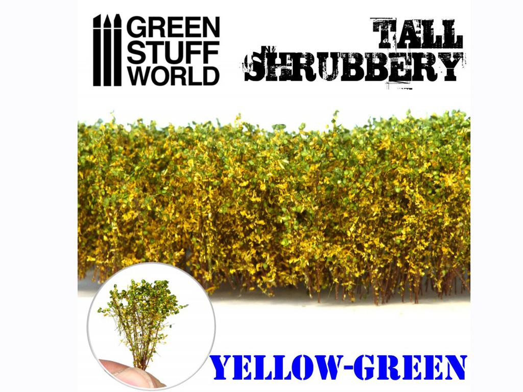 Arbustos Altos - Amarillo Verde (Vista 3)