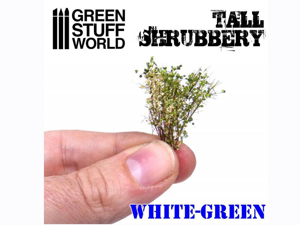 Arbustos Altos - Blanco Verde (Vista 2)