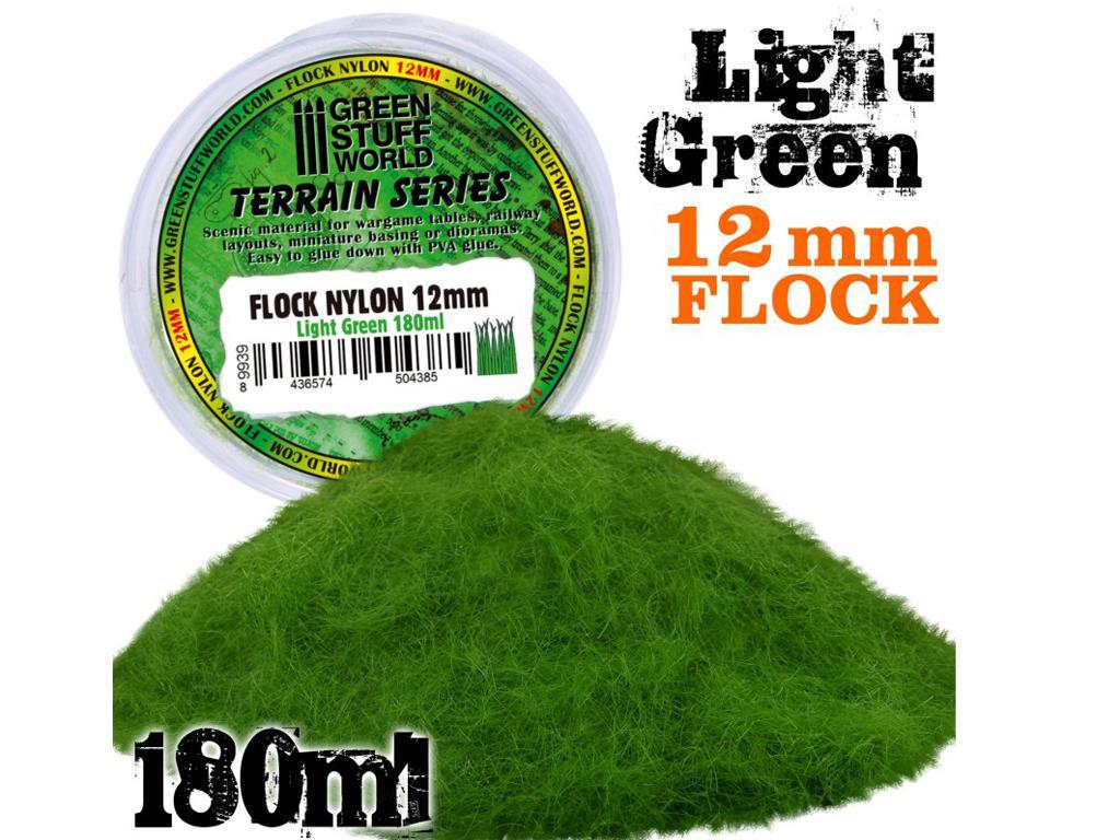 Cesped Electrostatico 12mm - Verde Claro (Vista 1)