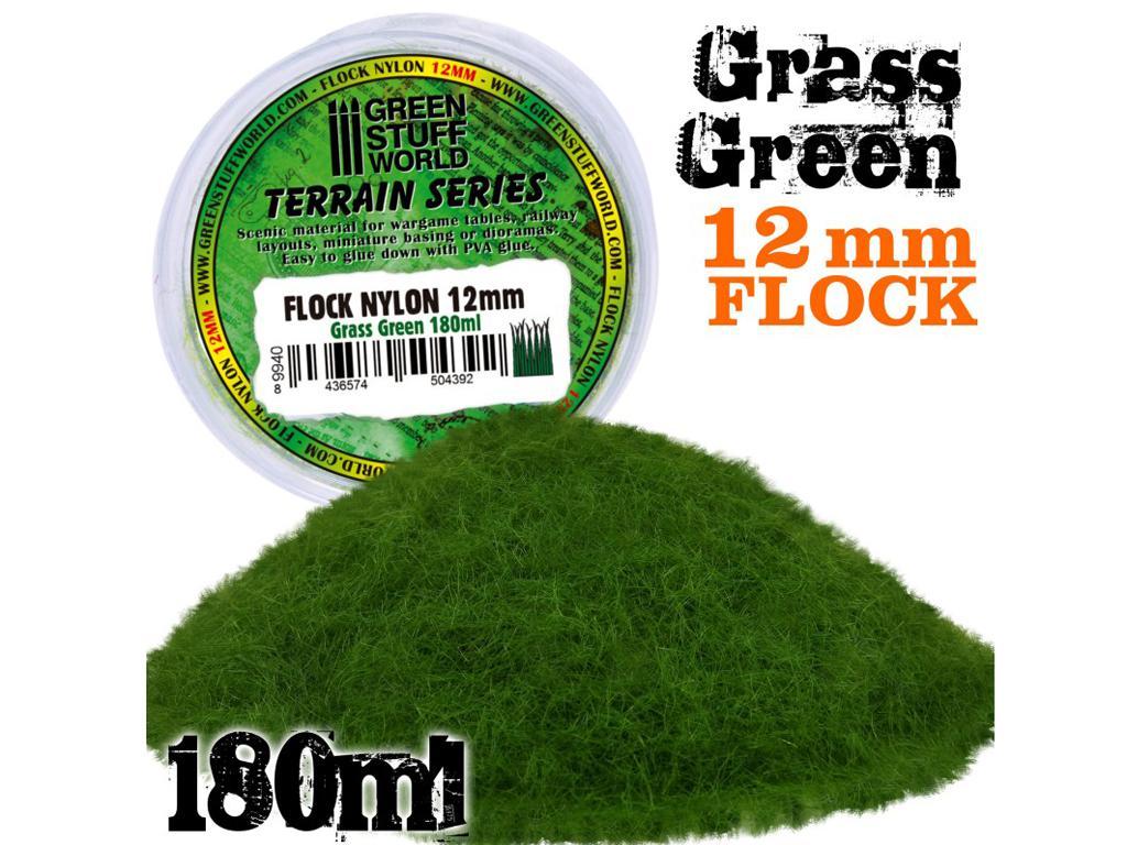 Cesped Electrostatico 12mm - Verde Cesped (Vista 1)