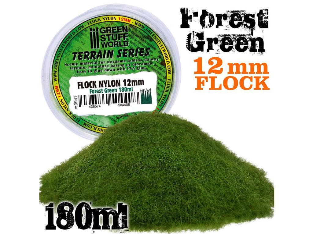 Cesped Electrostatico 12mm - Verde Bosque (Vista 1)
