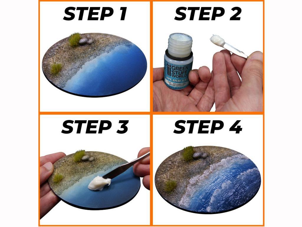 Splash Gel - Efecto Agua (Vista 3)