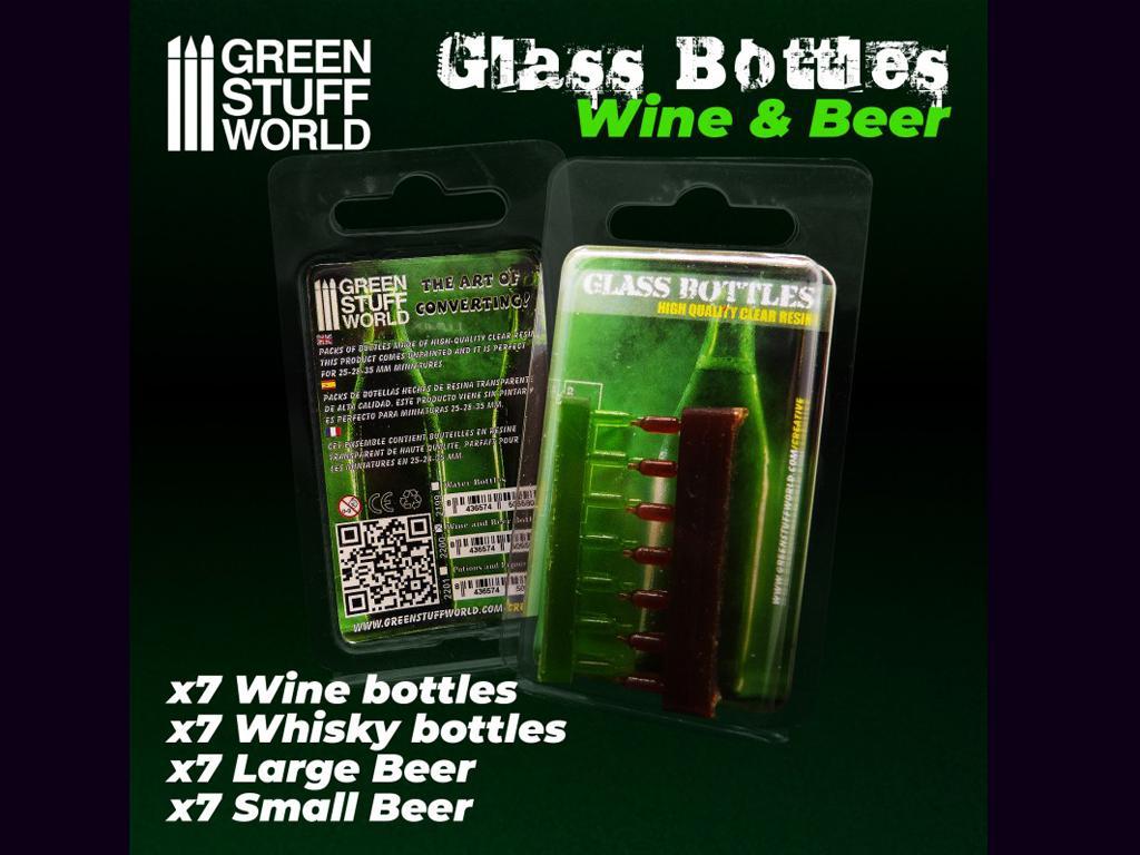 Botellas de Vino y Cerveza (Vista 2)