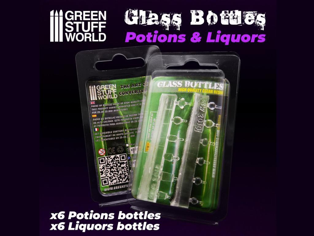 Botellas de Licor (Vista 2)