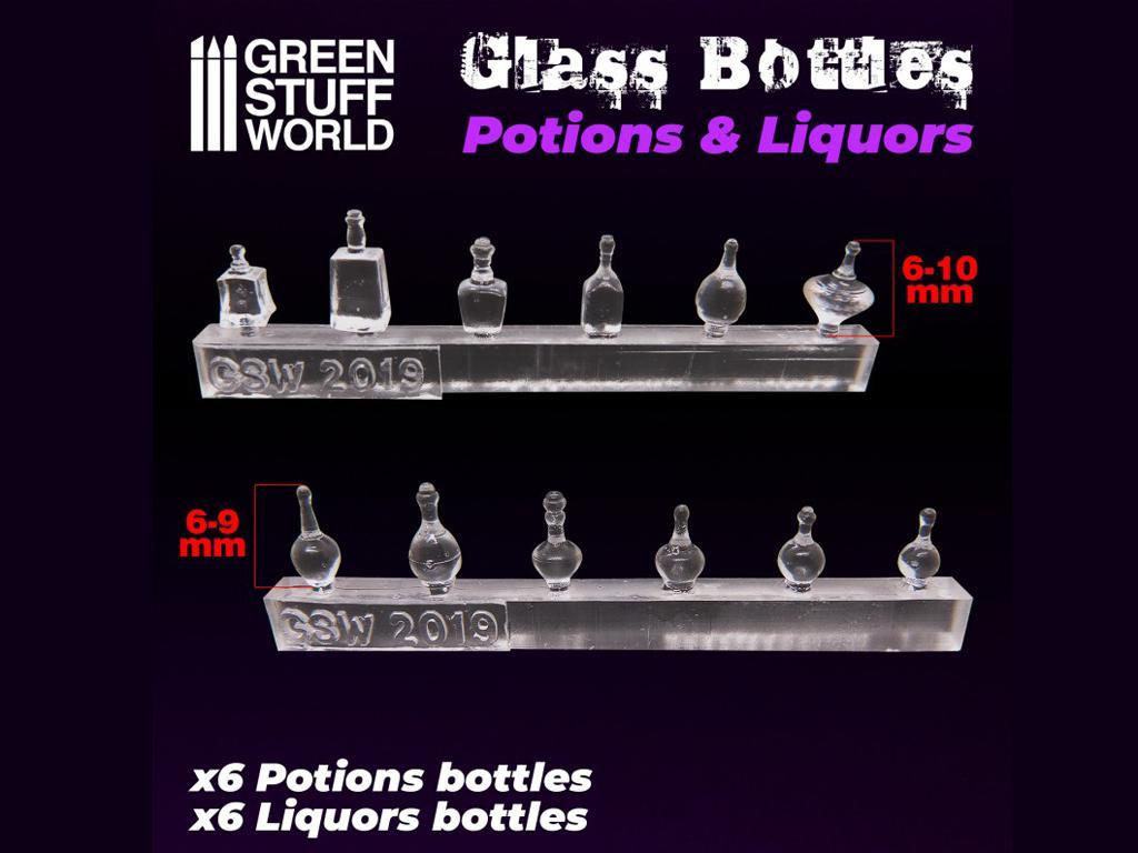 Botellas de Licor (Vista 3)