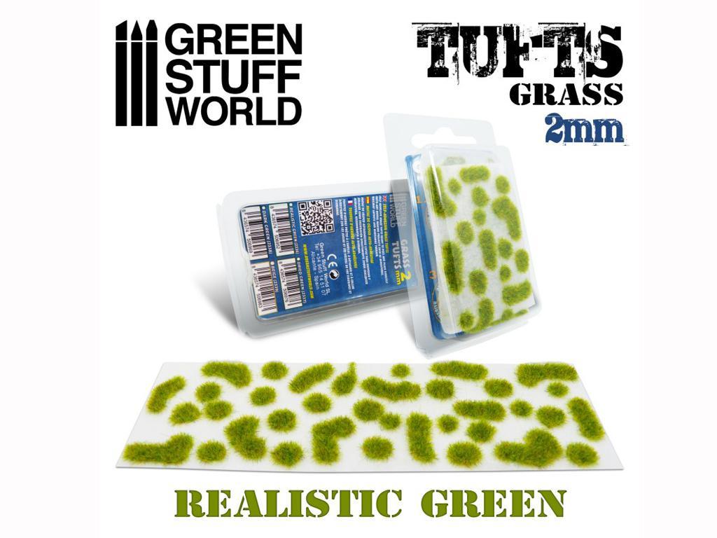 Matas Cesped Verde Realista 2 mm (Vista 1)