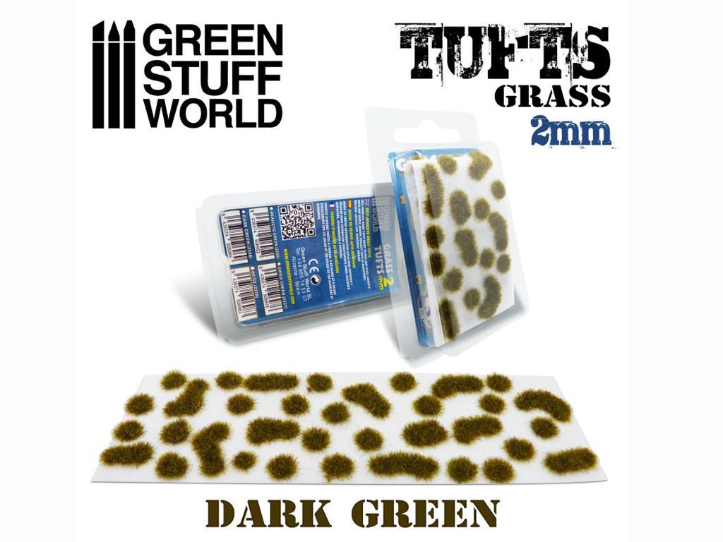 Matas Cesped Verde Oscuro 2 mm (Vista 1)