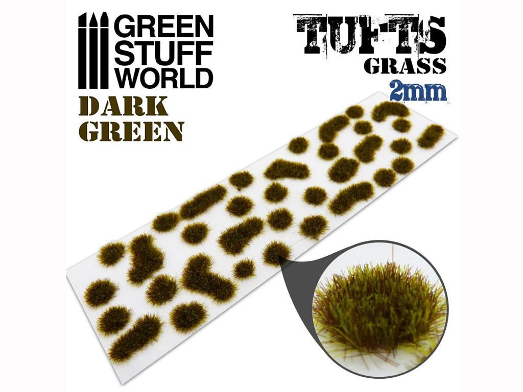 Matas Cesped Verde Oscuro 2 mm (Vista 2)