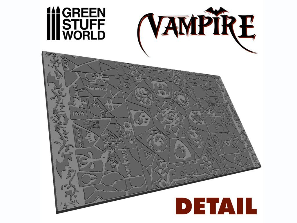 Rodillo Texturizado Vampiros (Vista 2)