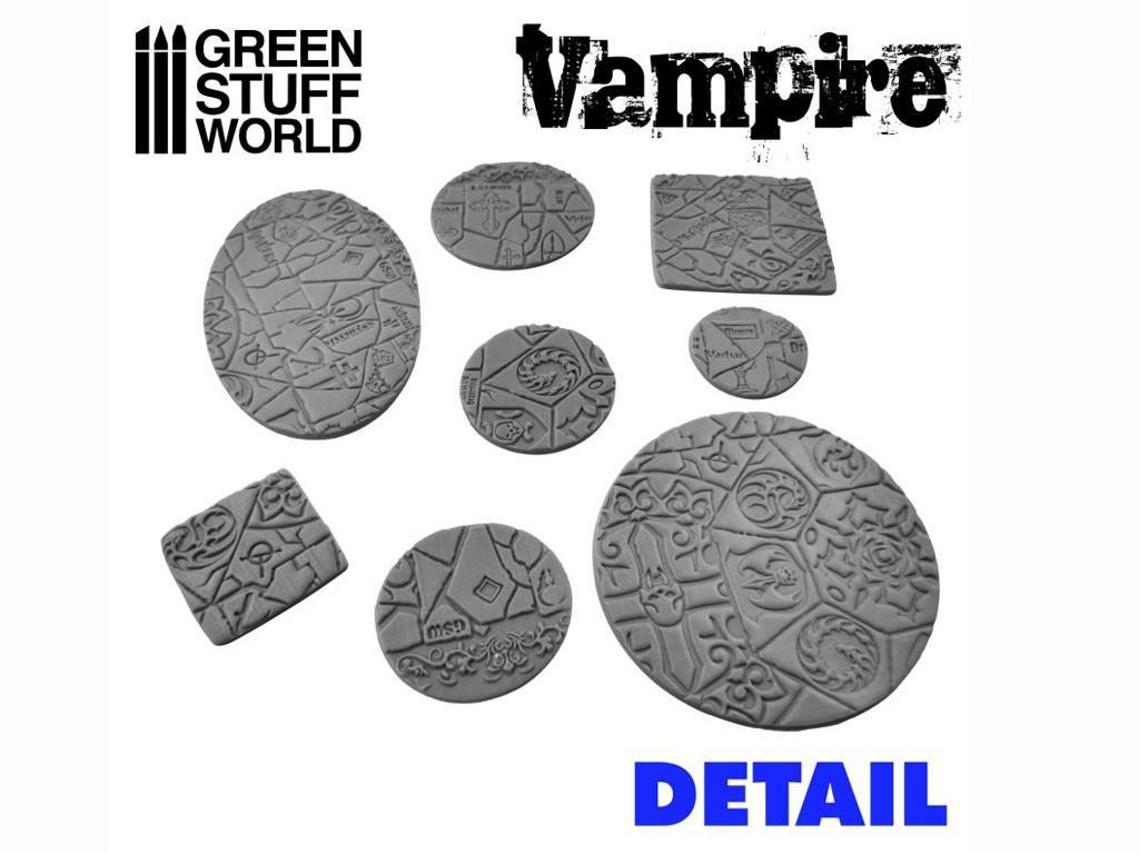 Rodillo Texturizado Vampiros (Vista 3)