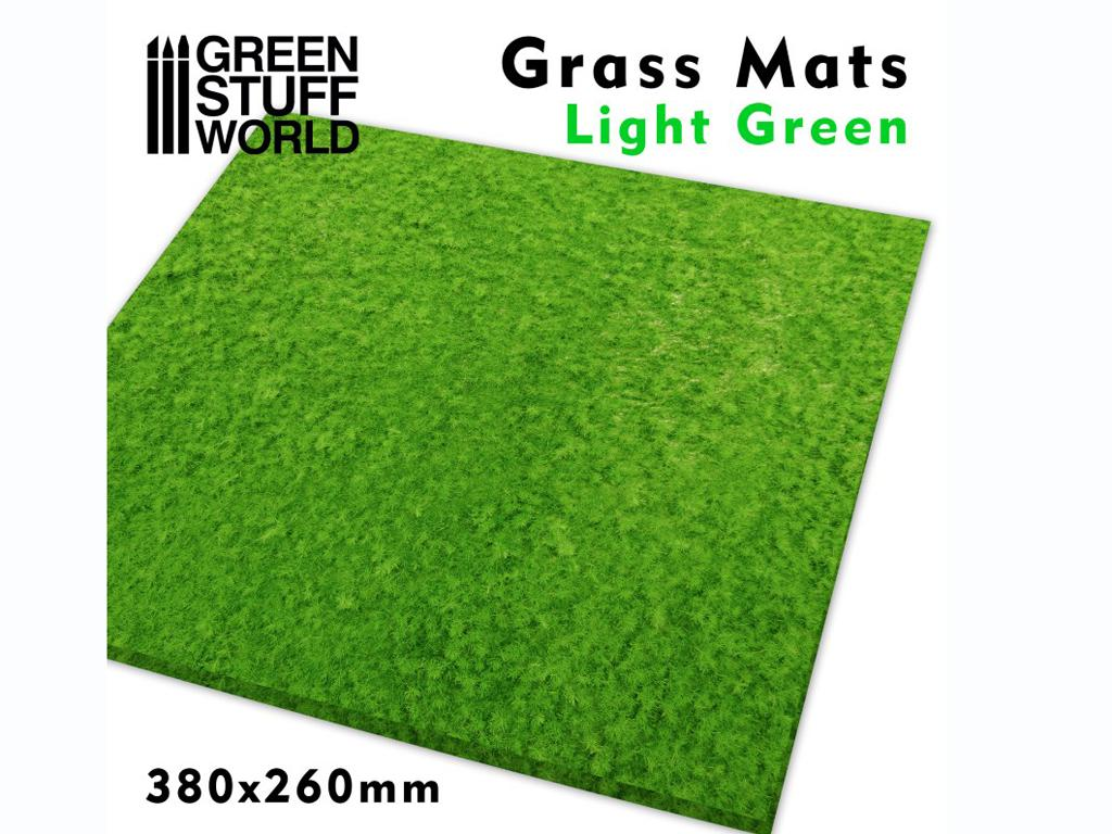 Tapetes de Hierba - Verde Claro (Vista 1)