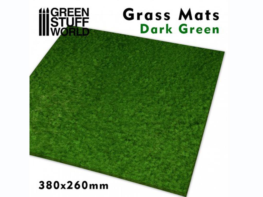 Tapetes de Hierba - Verde Oscuro (Vista 1)