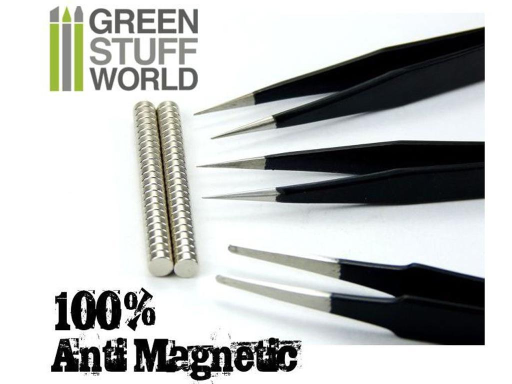 Pinzas Precision QUARTZ 100% Anti-Magnet (Vista 2)