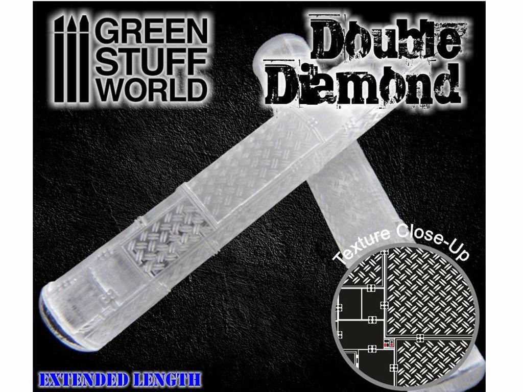 Rodillo Doble Diamante (Vista 3)
