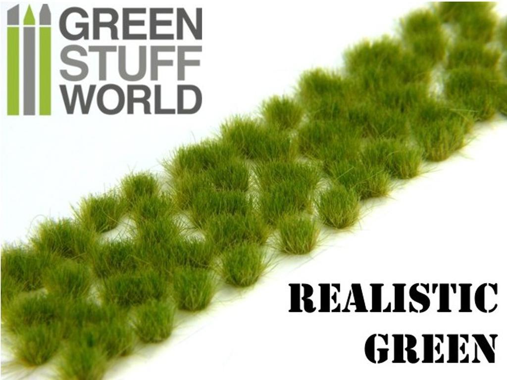 Matas Cesped Verde Realista (Vista 3)