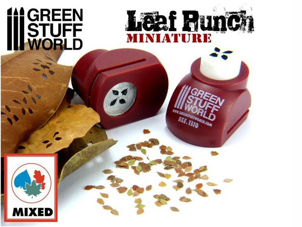 Troqueladora de Hojas Miniatura Roja (Vista 1)