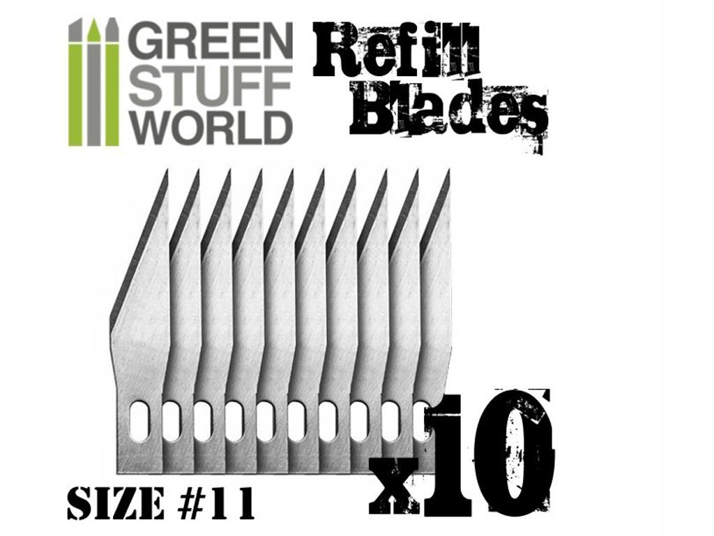 Set 10 x Hojas Recambio Cutter Modelismo (Vista 1)