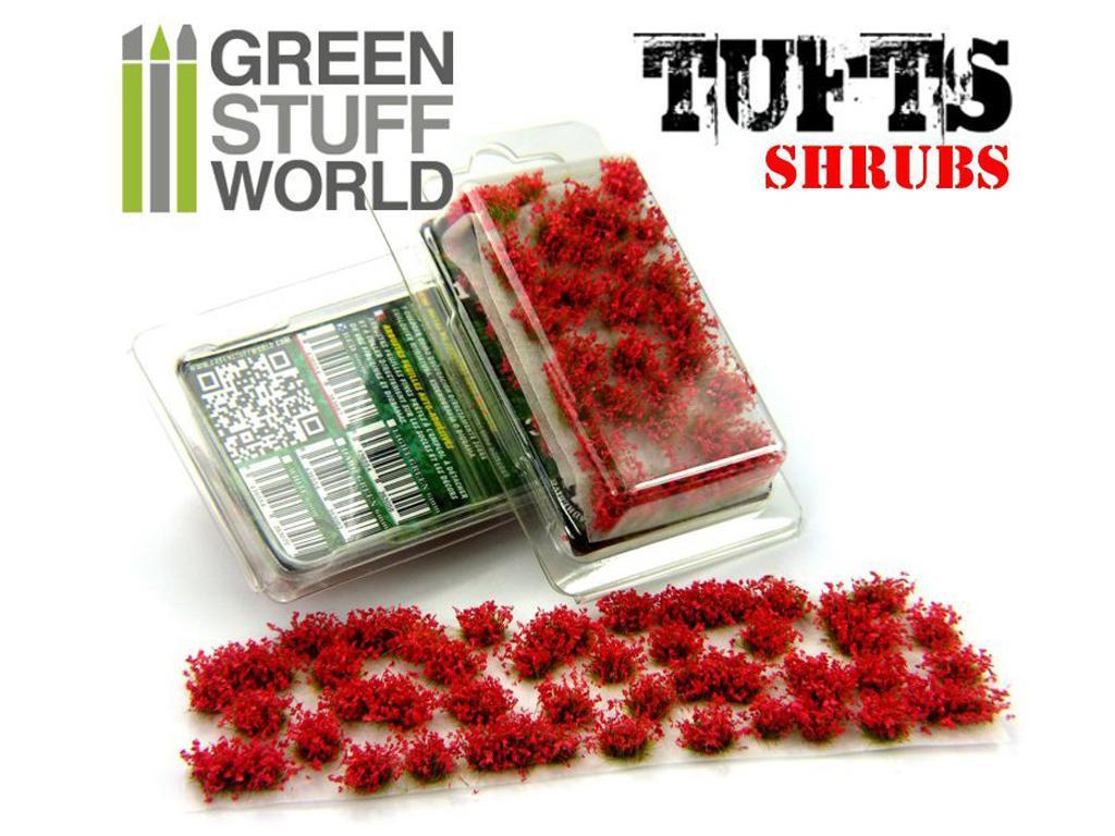Matas Arbustos Flores Rojas (Vista 1)