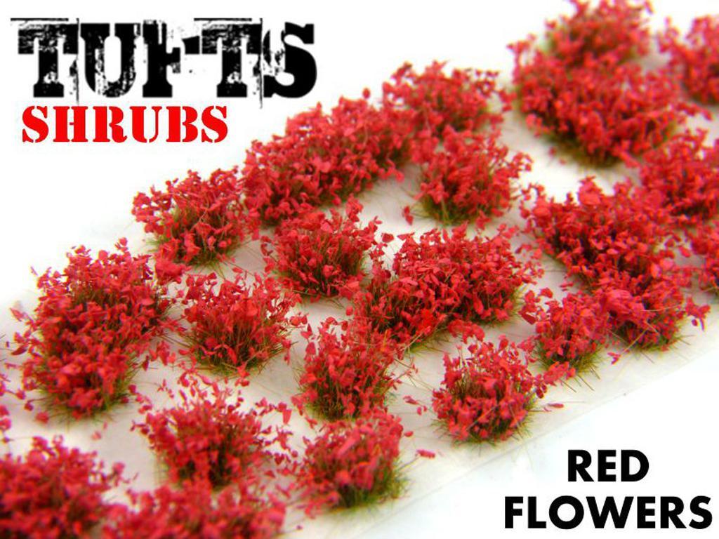 Matas Arbustos Flores Rojas (Vista 3)