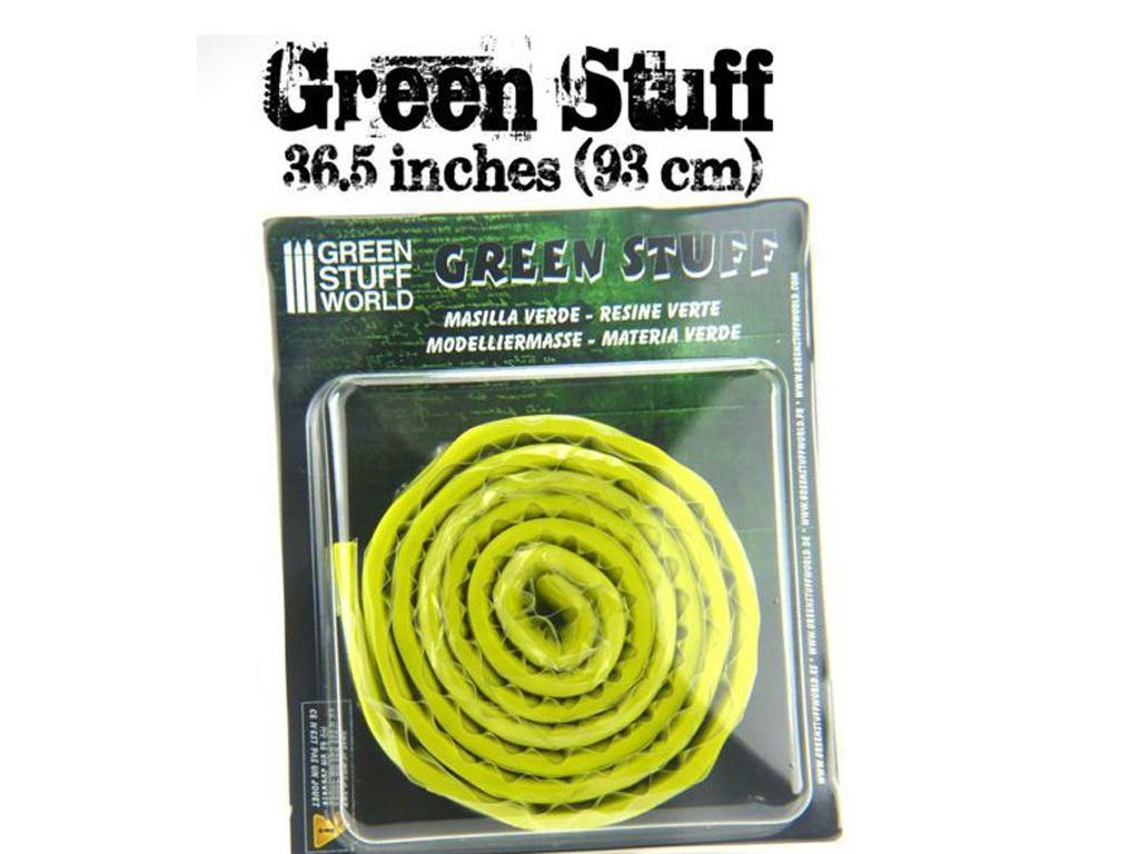 Masilla verde en Rollo 93 cm (Vista 2)