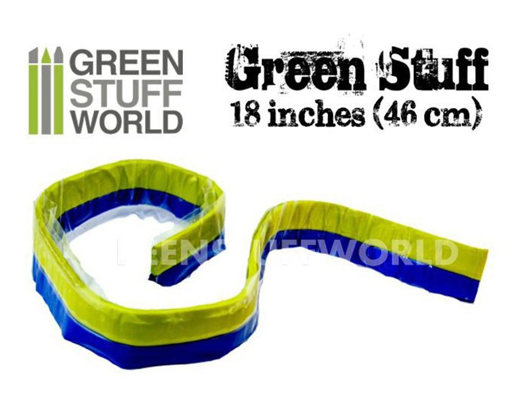Masilla verde en Rollo 46 cm  (Vista 1)
