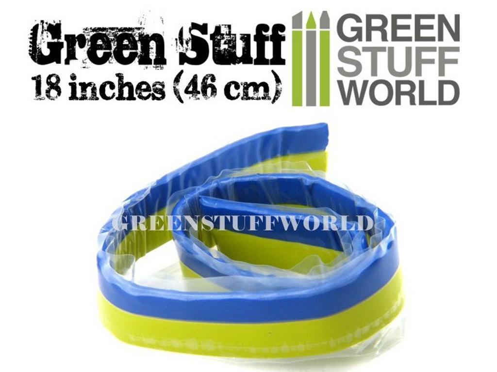 Masilla verde en Rollo 46 cm  (Vista 2)