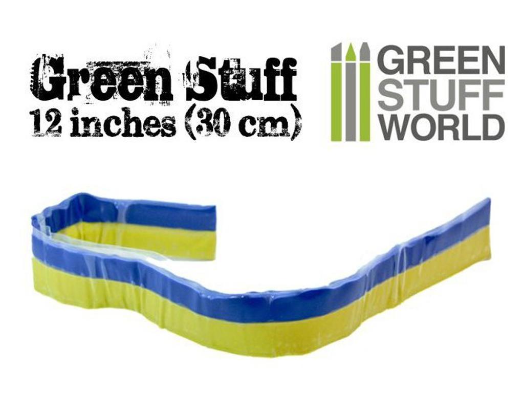 Masilla verde en Rollo 30 cm (Vista 1)