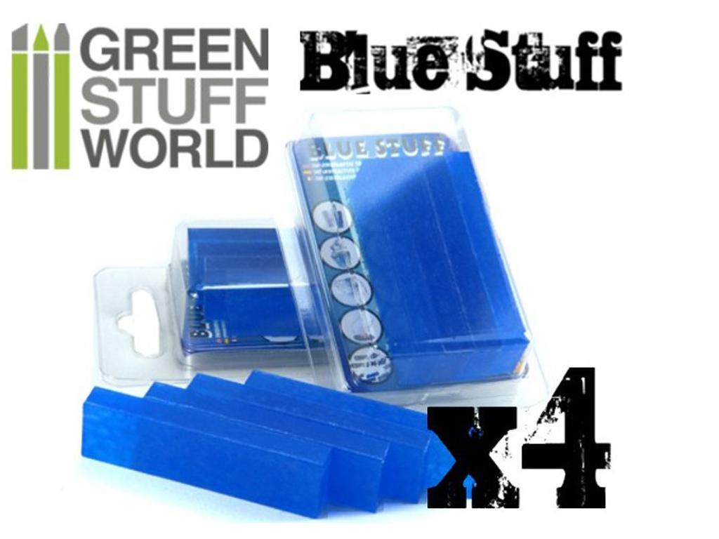 Blue Stuff Reutilizable 4 barras (Vista 1)