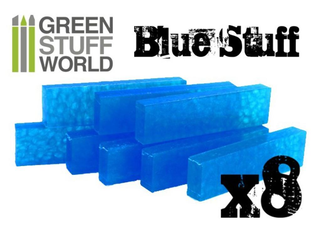 Blue Stuff Reutilizable 8 Barras (Vista 2)