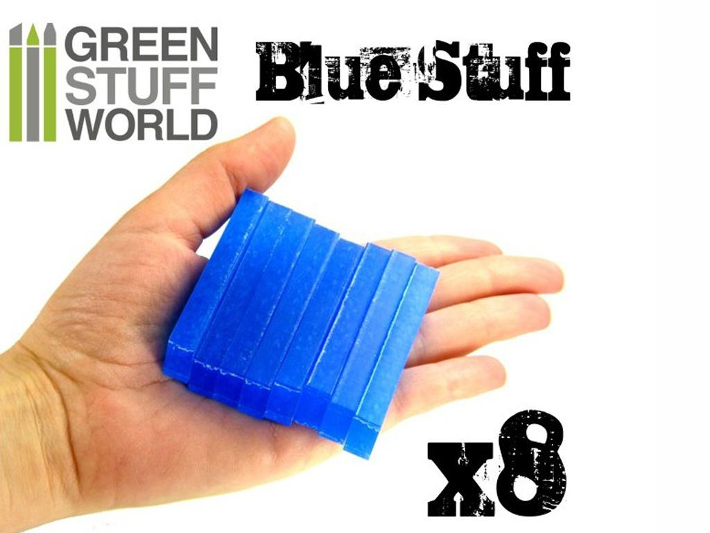 Blue Stuff Reutilizable 8 Barras (Vista 4)