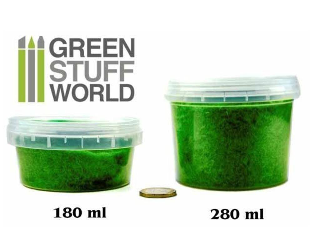 Cesped Fino Electrostatico Verde Medio (Vista 2)