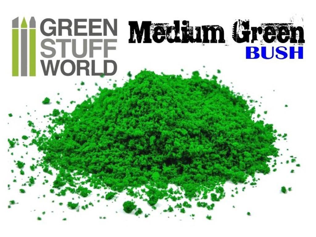 Flocado Espuma Fina - Verde Medio (Vista 1)