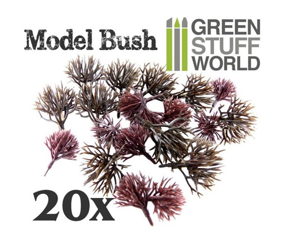 Arbustos de modelismo Flexibles (Vista 1)