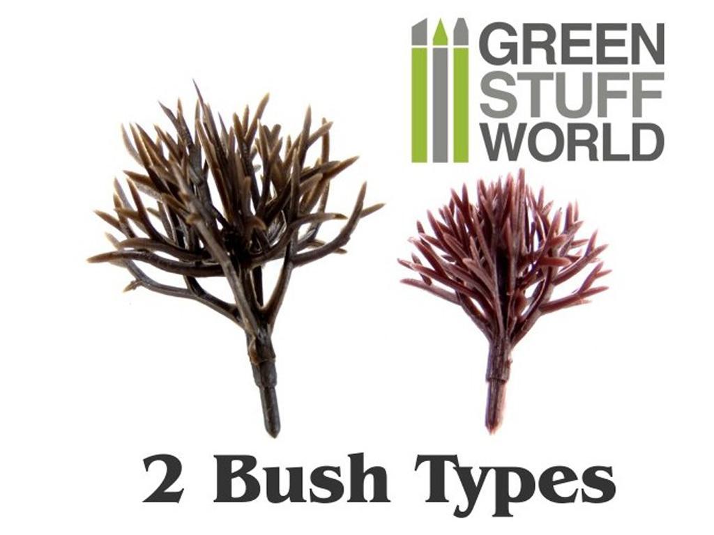 Arbustos de modelismo Flexibles (Vista 2)