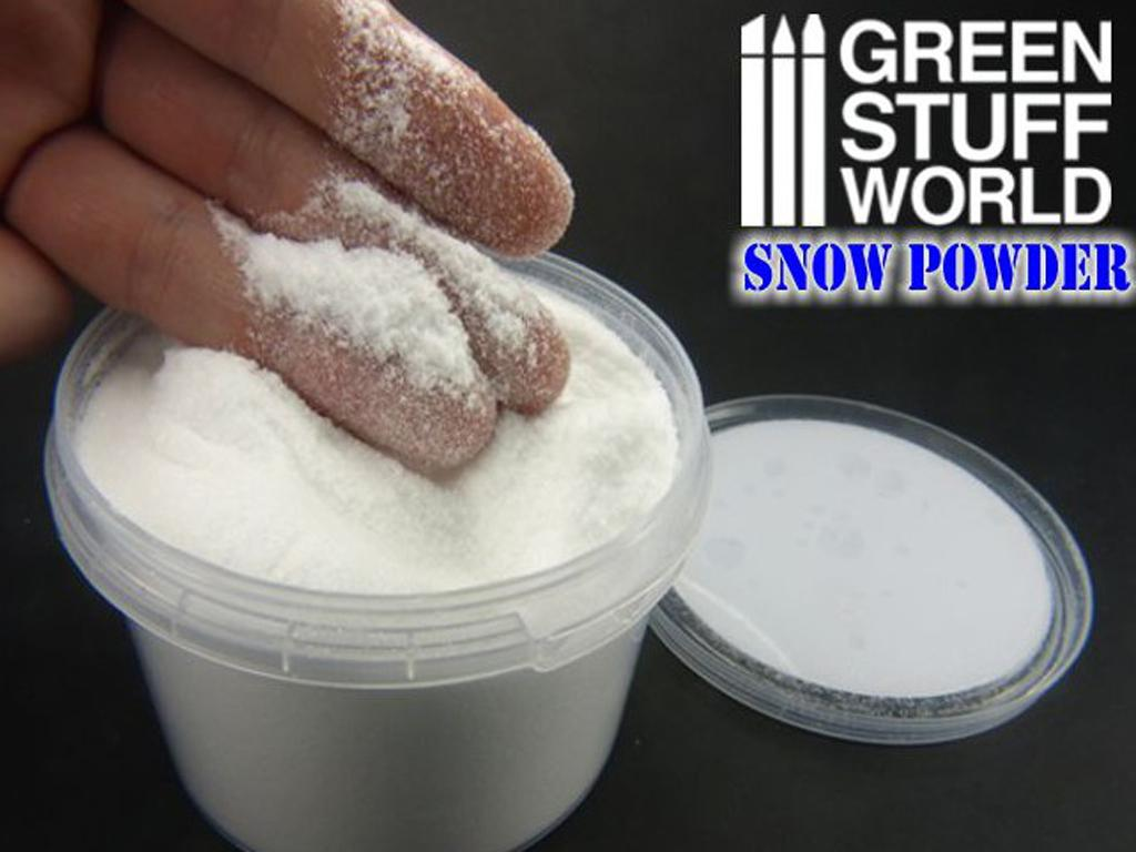 Nieve Modelismo Polvo (Vista 4)