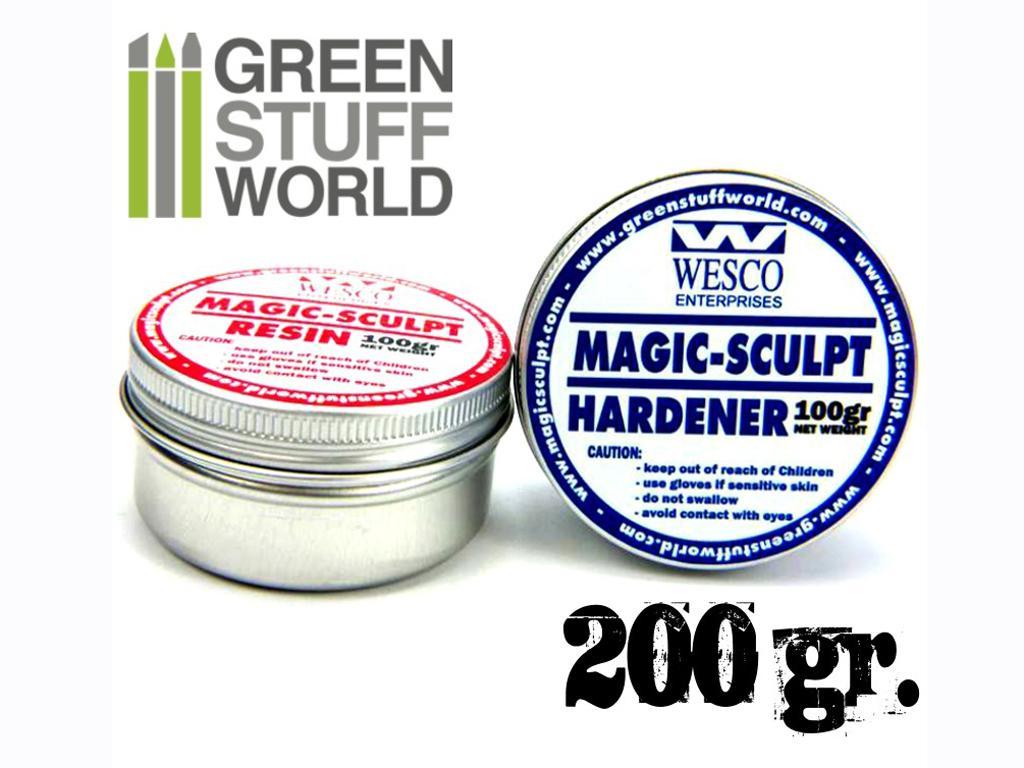 Magic Sculpt 200gr - Masilla Epoxy (Vista 1)