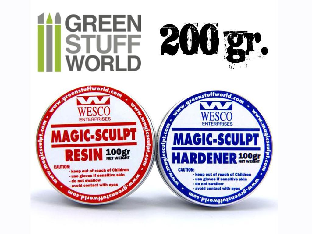 Magic Sculpt 200gr - Masilla Epoxy (Vista 3)