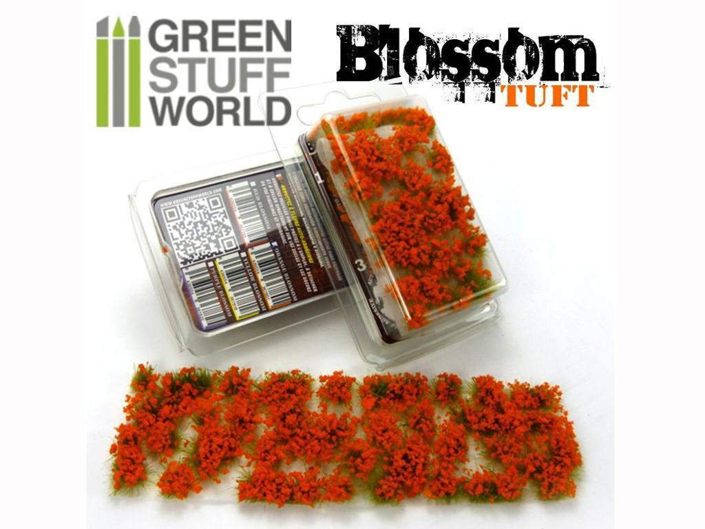 Flores Naranjas (Vista 1)